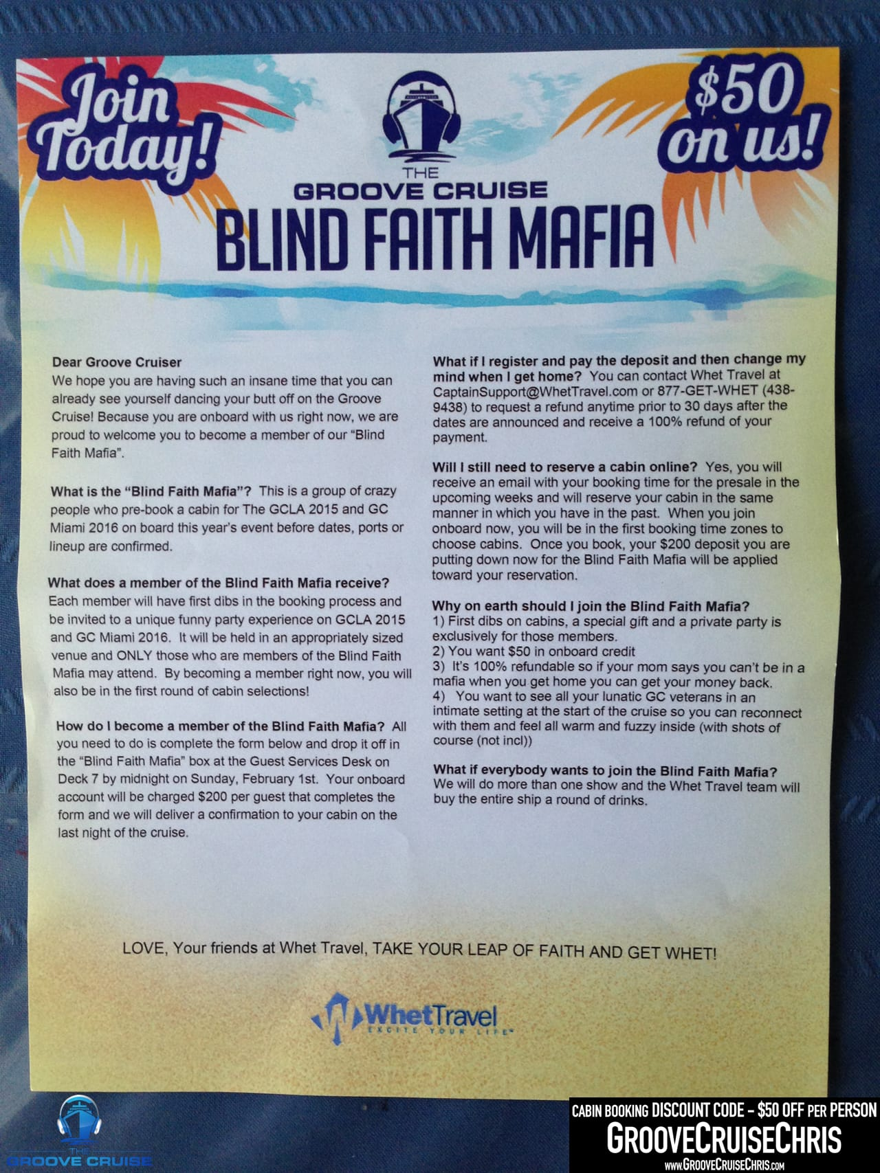 blind faith examples
