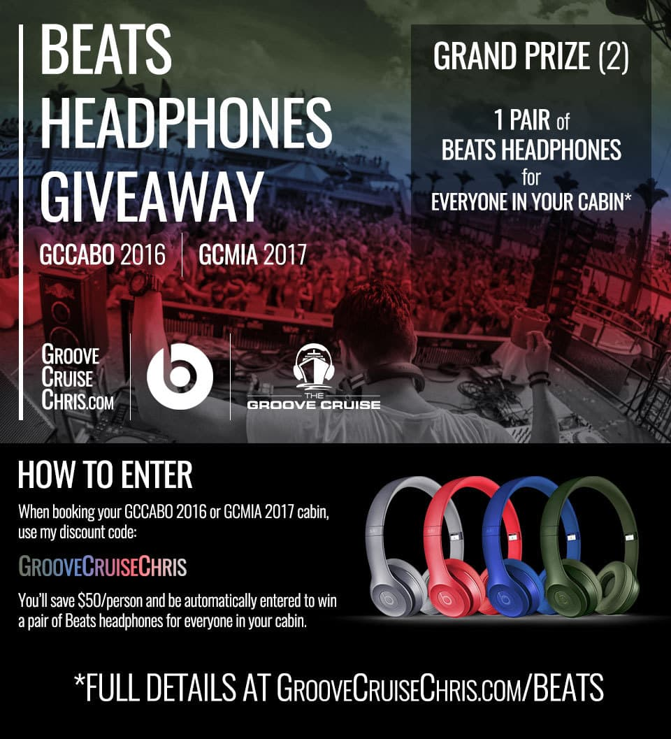 beats headphones giveaway for gccabo 2016 and gcmia 2017 groove