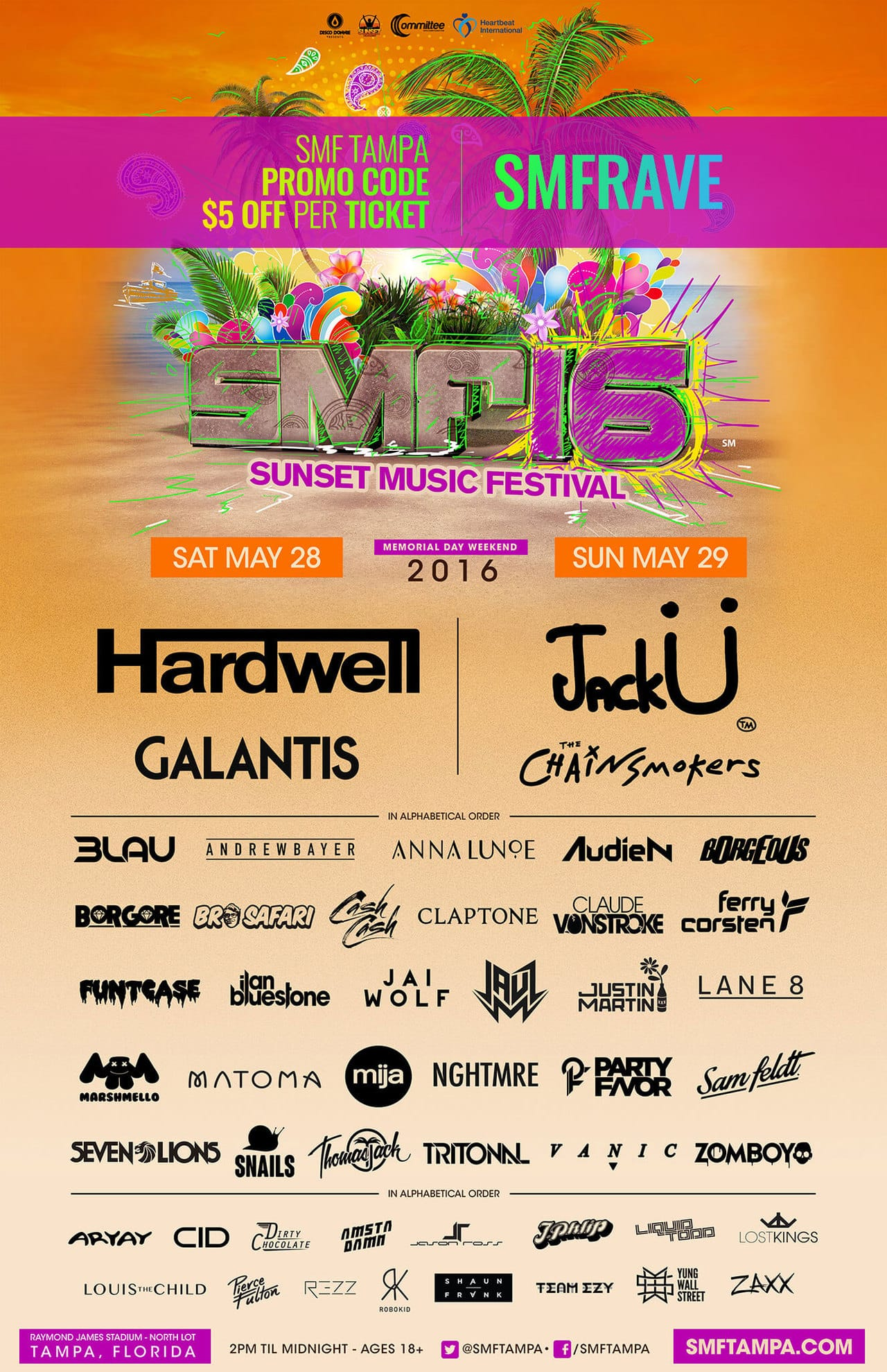 sunset music festival 2016 review tampa groove cruise chris