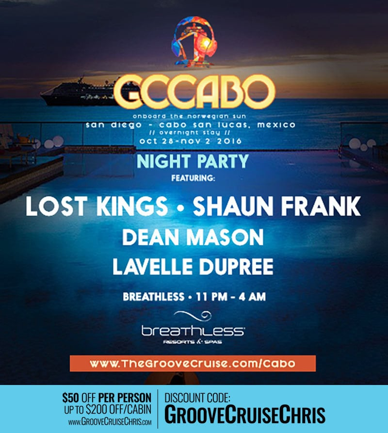 Cabo Night Party Venue Breathless Resort Groove Cruise